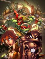 TMNT Attack! by AlonsoEspinoza