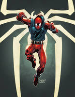 Scarlet Spider by AlonsoEspinoza