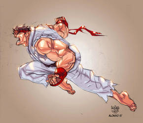 Ryu by AlonsoEspinoza