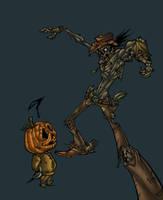 Zombie sketch by Zurdo by AlonsoEspinoza