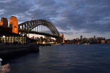 Sydney Harbour Bridge by Mayne1