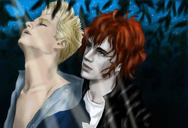 Armand y Daniel, bajo las estrellas by Gaara-Not-Found