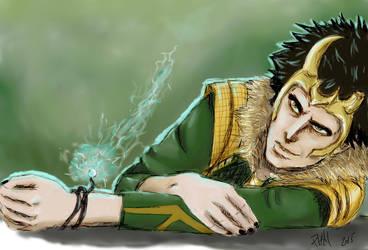 Loki God of Stories by Gaara-Not-Found