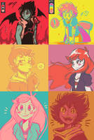 Palette doodles #1 by Chiibe
