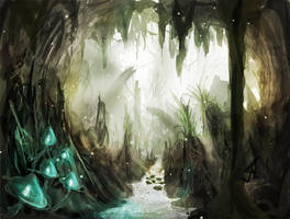 Jungle Cave by michifromkmk