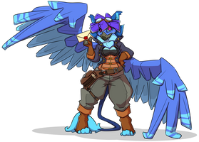 Your personal postgryphon by Yvem