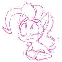 Stressed Pony by ezpups