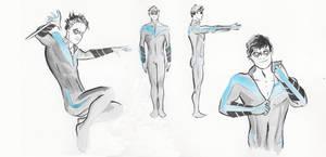 Nightwing Redesign by MPOSullivan