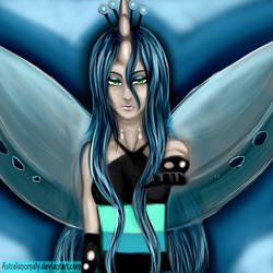 Anthro chrysalis by AstralAnomaly