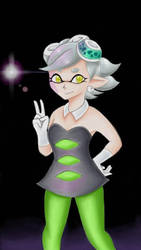 Squid sister Marie!!! by Crunchaw