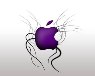 Purple Apple by LatteQueen