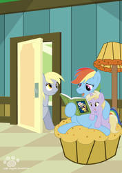 Commission: Story time by Coshi-Dragonite