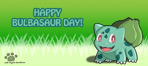 Happy Bulbasaur Day! by Coshi-Dragonite