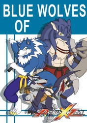 Blue Wolves of Project X Zone by Coshi-Dragonite