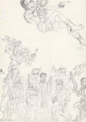 Lara And Foes by El-Fracasor