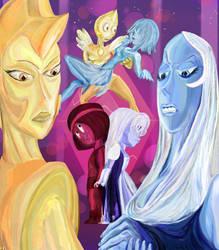Art Collab: Pupilles Polygonales by El-Fracasor