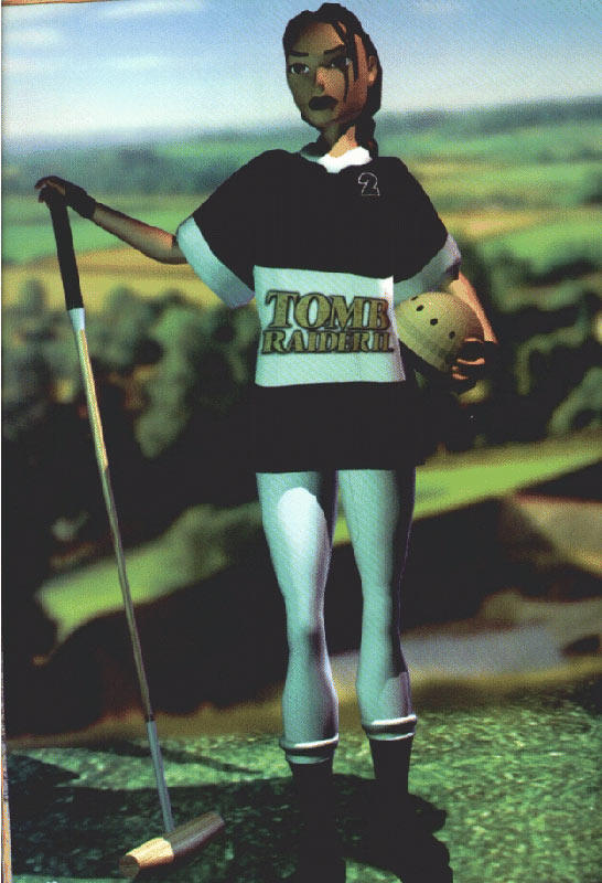 Tomb Raider photograph : TRII Polo Suit by El-Fracasor