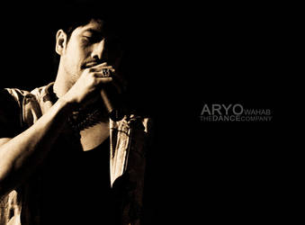 Aryo Wahab on Stage by shinduster