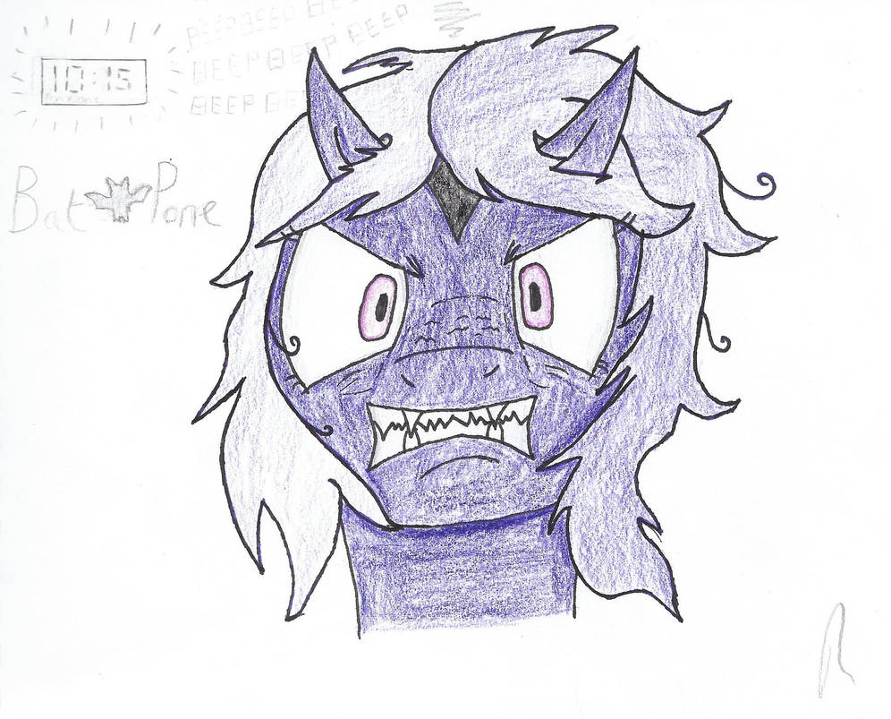 Amethyst Shade portrait doodle by lotus3512