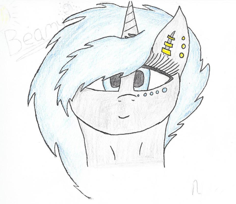 Moonbeam doodle by lotus3512