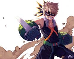 [Bakugou Katsuki a.k.a Kacchan] Boku no Hero by AnantaSeiji