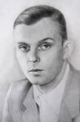 Portrait as a gift for Theo(Theo Hutchcraft,HURTS) by TanyaPaulik