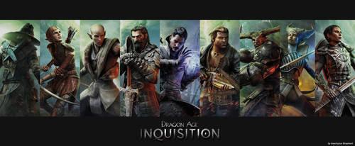 Dragon Age Inquisition Wallpaper3 by AeschylusShepherd