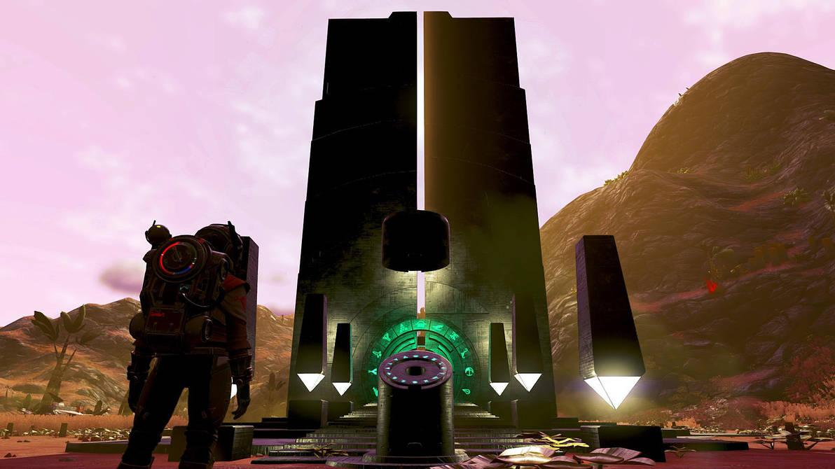 Through the portal by Bisougai