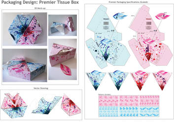 Tissue Box Packaging by giras0l