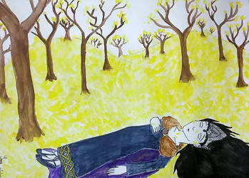 The Death of Arwen by saramarconato