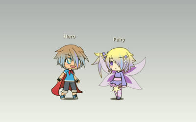 (Gacha Life) OCs? Hero and Fairy by IggyAlfi2319