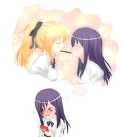 Katawa Shoujo - Hanako x Lilly by ambisei