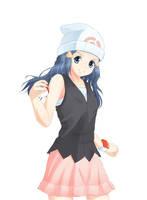 Pokemon - Dawn :: Hikari by ambisei