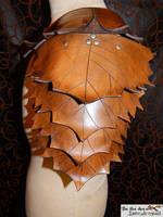 Leaf collection: shoulder armor by marcuslerenard
