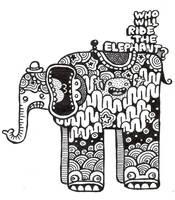 elephant by ArtByAlexChiu