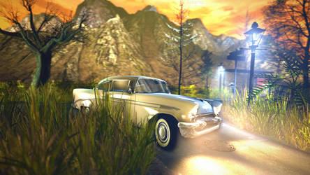 Cruisin' down a Chevy (4K) by Razorsz