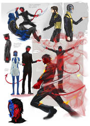 X-men First Class fanart by NadzomiViro