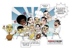 Caricaturas. by sirelion80