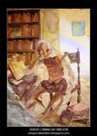 Don Quijote en su locura. by sirelion80