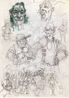 Sketch page by sirelion80