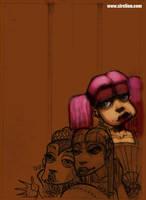 Nenas, sketch by sirelion80
