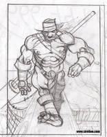 Orc sketch by sirelion80