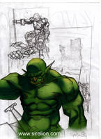 Orc sketch N2 by sirelion80