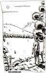 El hombre salvaje. Boceto4 by sirelion80