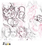 Sketch n3 by sirelion80