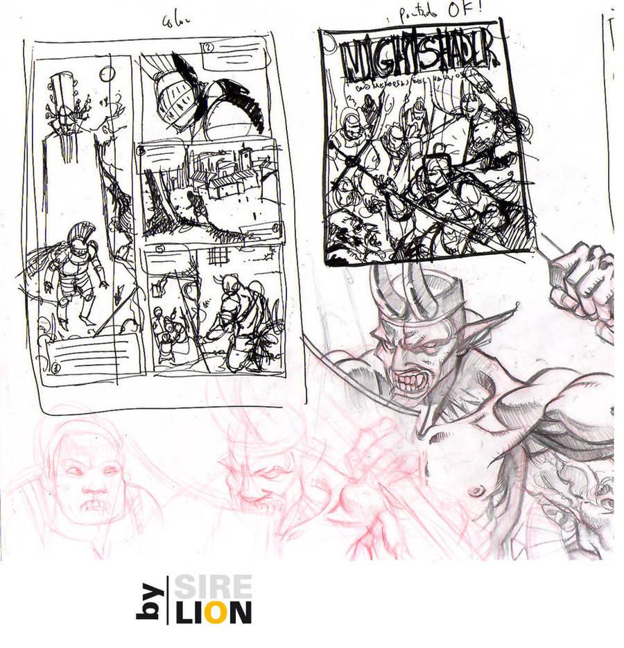 Sketch n6 by sirelion80