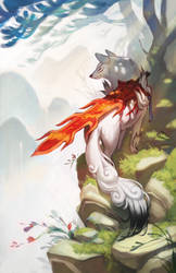 Okami - The End by chiou