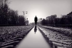 way alone by St-JR