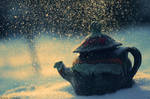 snow kettle by bezag