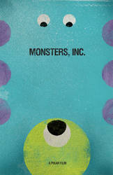 Monsters Inc. by goodmorningvoice